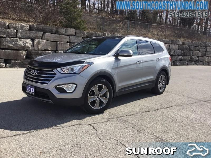 2017 Hyundai Santa Fe 3 3l Awd Luxury Heated Mirrors 170 62 B W